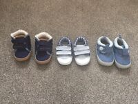 Baby boys shoes age 3-6 months