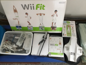 Wii fit and attwchments