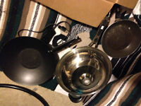 dishes, and pots perfect for student can deliver