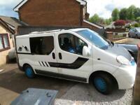 Vauxhall Vivaro Camper, 2008, 2 Berth, 4 Belted Seats, Solar Panel
