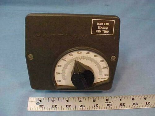 PARTLOW Temperature Controller Model ZF7 Engine Exhaust  100-1100F