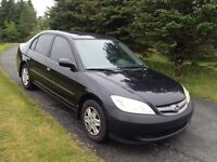 2004 Honda Civic with inspection