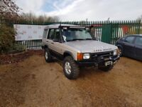 Land Rover discovery off roader 4x4