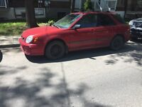 Subaru impreza ts 2003 1400$ NOT negociable