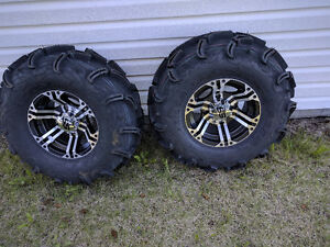 Brand New Maxxis Zilla Tires on ITP Rims