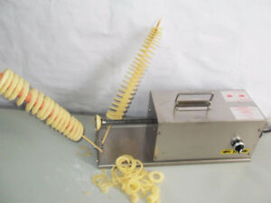 NEW! Commercial Electric TWISTICK POTATO CUTTER (3 in 1)