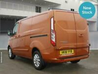 2018 Ford Transit Custom 2.0 EcoBlue 130ps Limited Short Wheelbase L1H1 Low Roof
