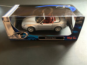 Selling Maisto Special Edition Maserati Spyder 1:18 West Island Greater Montréal image 4