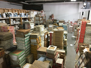 CLEARANCE ON FLOOR AND WALL TILES