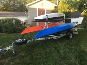 4 KAYAK TRAILER FOR SALE IN PERFECT CONDITION