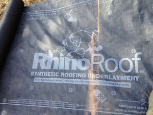 Rhino Synthetic Roof Underlayment