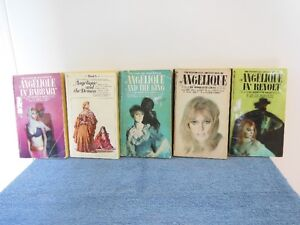 ANGELIQUE novels by Sergeanne Golon RARE