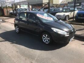 2005/05 Peugeot 307 1.6HDi (110bhp) S DIESEL ONLY 115 ROAD TAX PA £1795