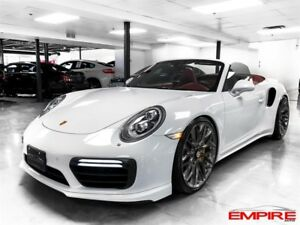 Porsche 911 TURBO S CONVERTIBLE 580HP 2017