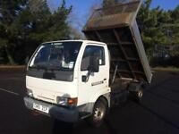 NISSAN CABSTAR TIPPER COMPLETE WITH M.O.T 74,000 MILES INC WARRANTY NO VAT
