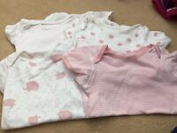 Baby girl vests18-24 months-M&S
