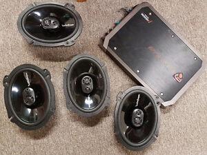 Rockford fosgate 6x8 plus amp