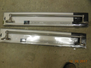 Towel rods (2 new in the box)
