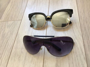 Guess and Forever 21 Sunglasses