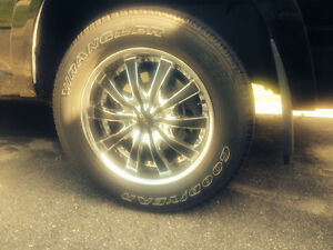 """Beautiful 20"""" rims and tires"""