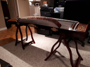 Beautiful Chinese Guzheng for sale. Excellent condition.
