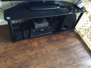 Glass tv stand- REDUCED St. John's Newfoundland image 2
