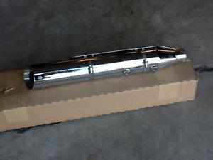 HD 2009 Crossbone chrome mufflers never used $200.00