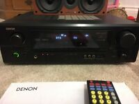Denon AVR-1906 with Wharfedale speakers. Bargain quality home cinema package