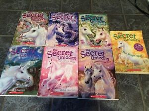 7 My Secret Unicorn books
