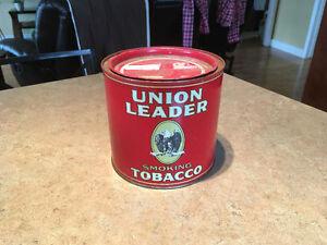 Boîte de tabac UNION LEADER