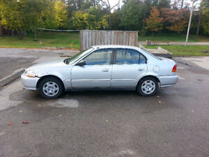 1998 Honda Civic Sedan Kitchener / Waterloo Kitchener Area image 2