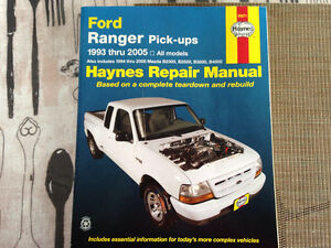 Ford Ranger Haynes Repair Manual