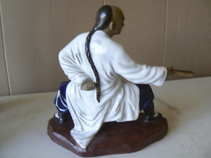 Martial Arts Shiwan monks Ceramic figures. West Island Greater Montréal image 7