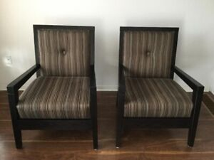Sofa and Upholstery Armchairs set - $1100