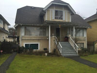 Large 3 bed with fresh paint several blocks from VGH - March 1st
