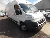 Citroen Relay 2.2HDi (130) 35 L3H2 LWB MR, White, 2012 (12)