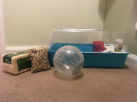 Blue Hamster/Small Animal Cage