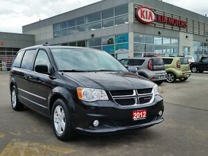 2012 Dodge Grand Caravan CREW | LEATHER | NAVI | STOW'N'GO