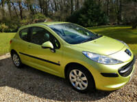 2007 Peugeot 207 1.4 ( a/c ) S Wow!! Only 36,538 Miles FSH.