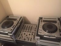 Pioneer 800mk2cdjsx2&Behringer djx700 mixer