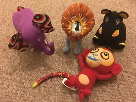 Kids Tinga Tinga Tales soft toy plushes