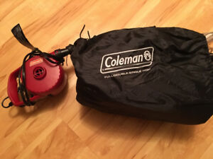 Coleman Double Air Mattress (original retail $75) w/Pump (orig