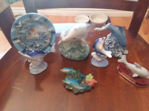 Small dolphin figures-5 dollars for all