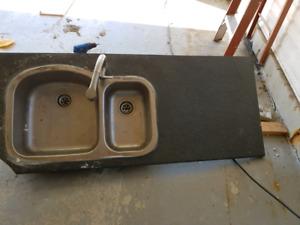 Sink - countertop - tap