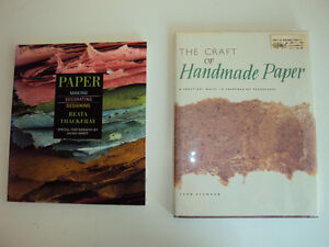 2 Books about Papermaking for $5