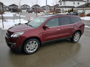 2015 Chevy Traverse with Transferable Extended Warranty