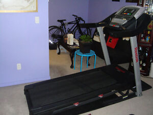 90% new folding treadmill