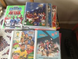 Various Trading Cards and Sticker Albums