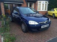 VAUXHALL CORSA 1.0 ACTIVE MANUAL 2003 AMAZING CONDITION BARGAIN A/C