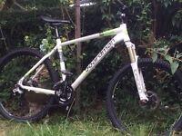 Boardman comp hardtail mountain bike